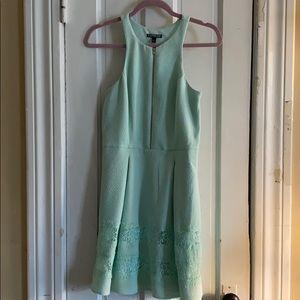 Express Cocktail Dress - Mint Green - Size 6
